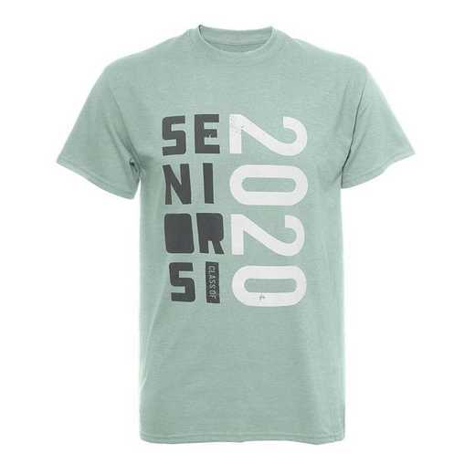Seniors Stacked 2020 T-Shirt-Mint